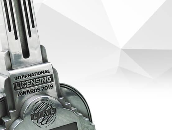 LIMA Licensing Awards Trophy